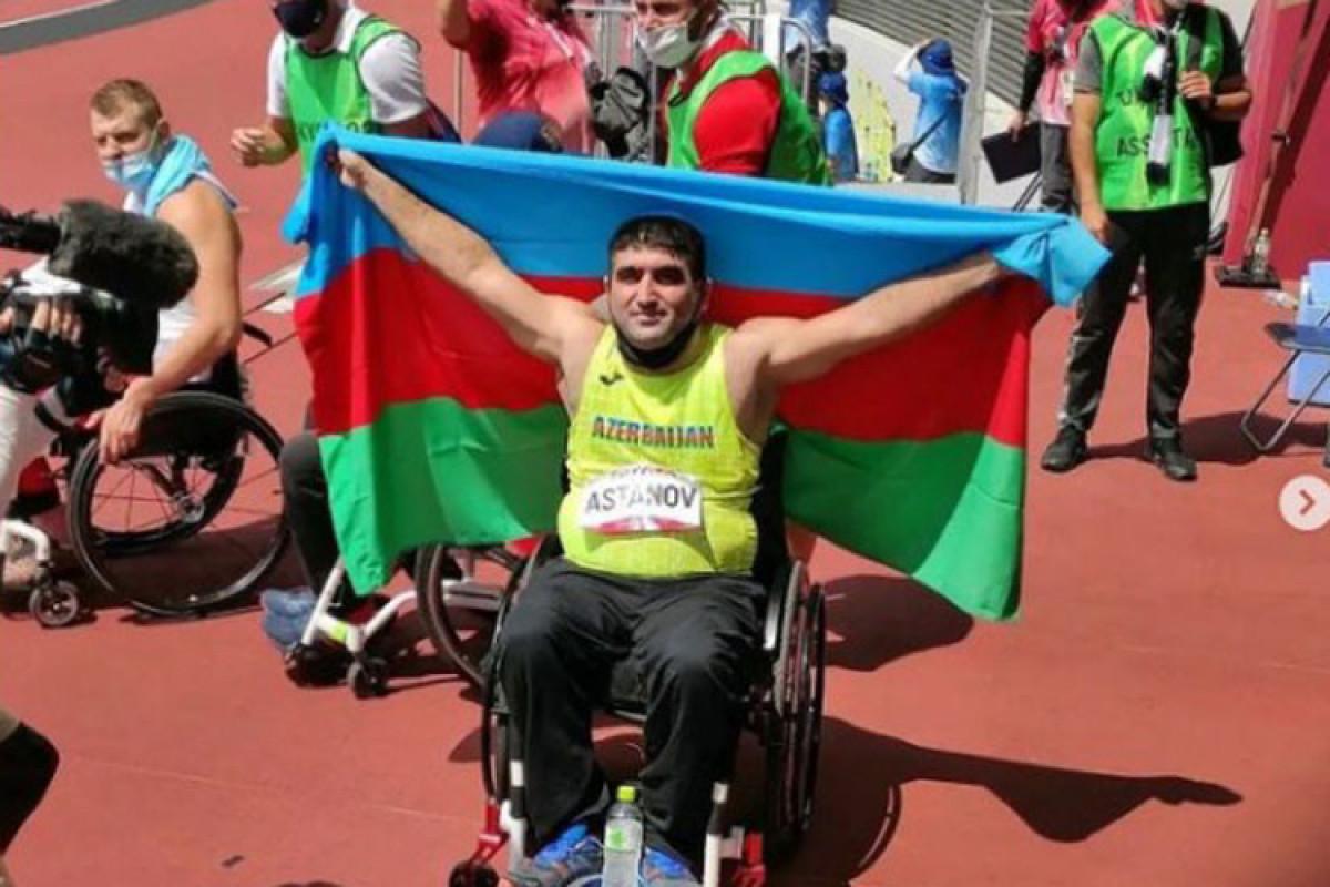 Мехрибан Алиева поздравила наших паралимпийцев, одержавших победы сегодня