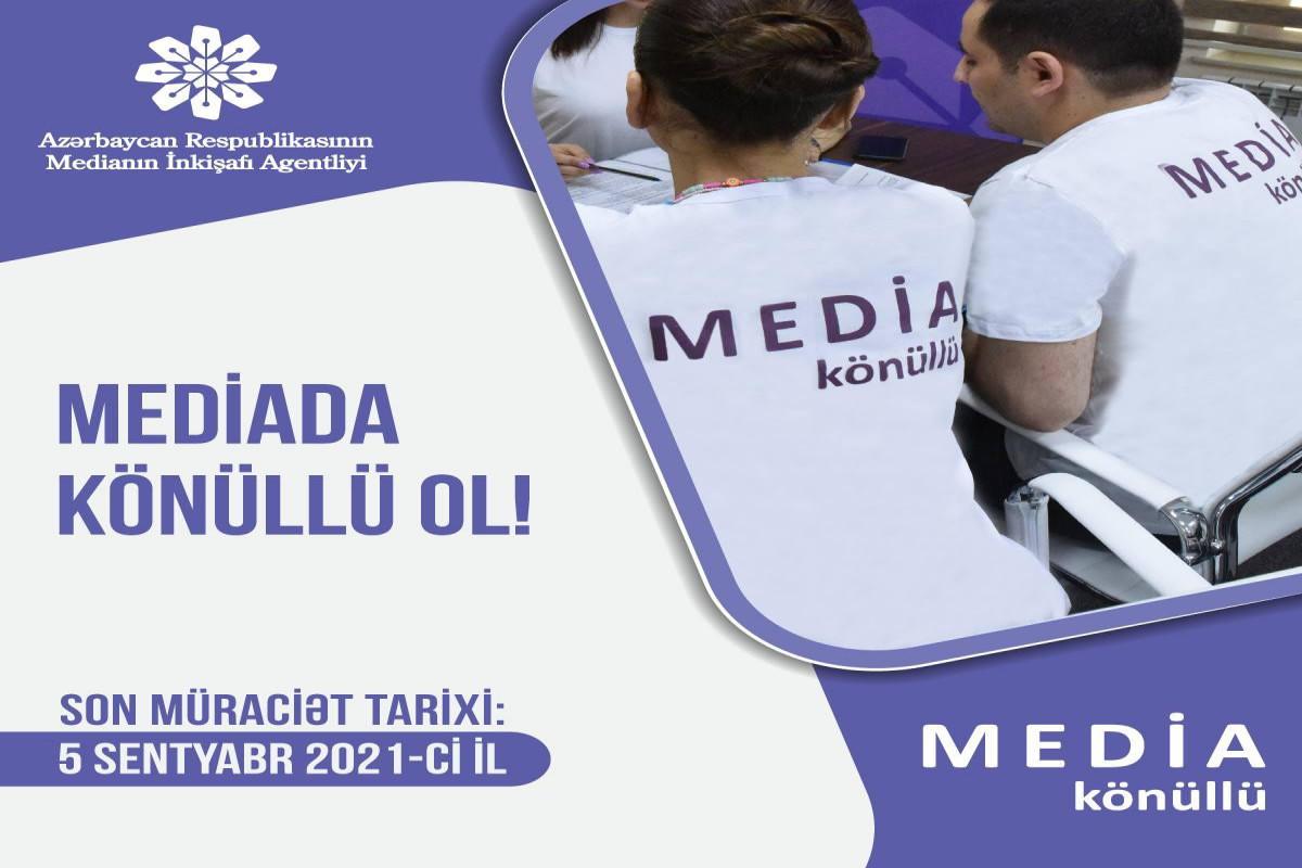 """Medianın İnkişafı Agentliyi """"MEDİA könüllüləri"""" proqramına başlayır"""