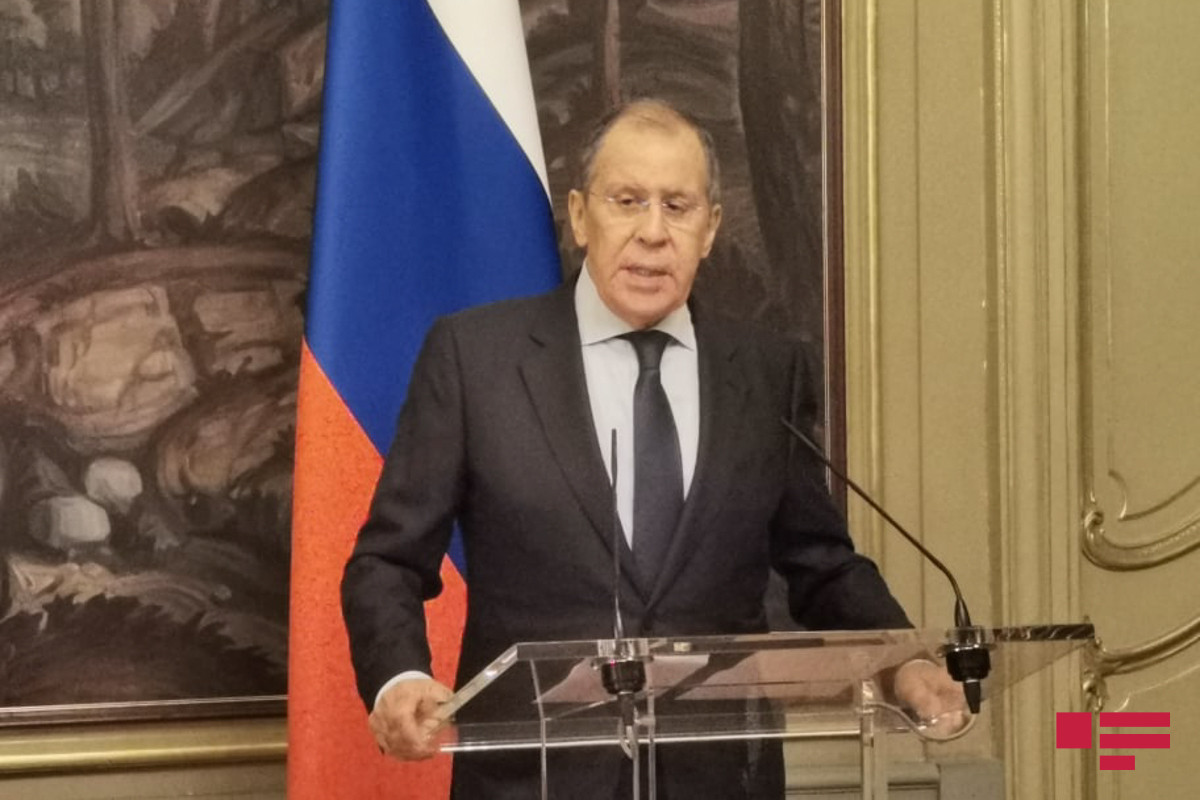 Russian FM Sergey Lavrov