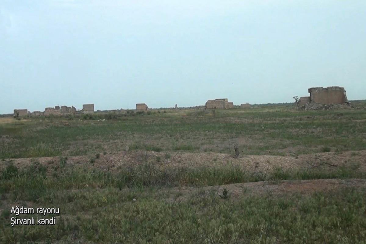 Ağdamın Şirvanlı kəndi