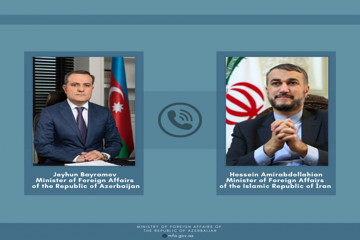 Telephone conversation took place between the Foreign Ministers of Azerbaijan and Iran