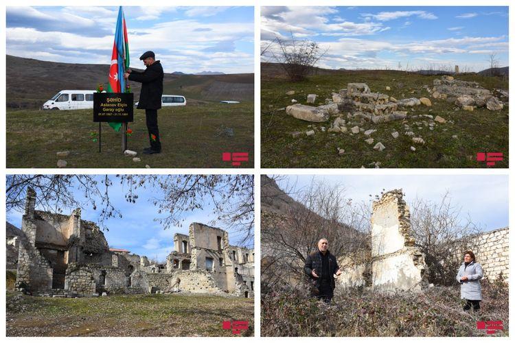Ermənilərin yandırdığı polis, 29 ildən sonra evini tapan Salakətin sakini, dərəyə aşırılan erməni avtobusu - REPORTAJ - FOTOLAR