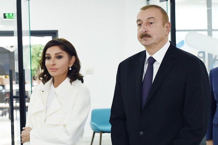 Ильхам Алиев и Мехрибан Алиева поздравили Теймура Раджабова в связи с победой в турнире Airthings Masters