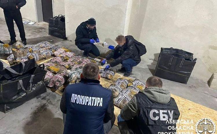 В Украине изъяли рекордную партию героина