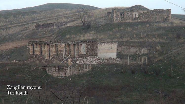 Село Тири Зангиланского района - ВИДЕО