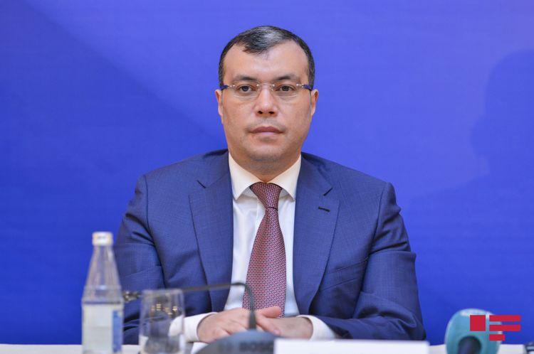 """Sahil Babayev: """"Son iki il ərzində ümumilikdə 570 milyon manat vəsait dövlət büdcəsinə qaytarılıb"""""""