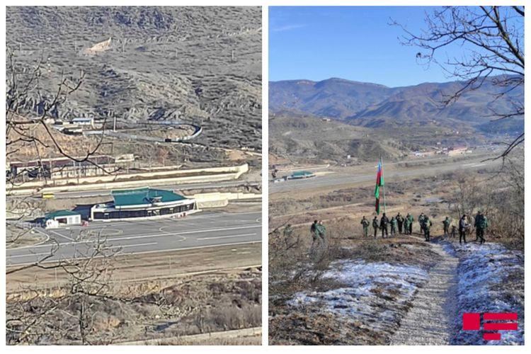 Qafan aeroportu ilə üzbəüz, Qafan-Gorus magistral yolunun 100 metrliyində: Xudayarla birlikdə yazılan dastan - REPORTAJ - FOTOLAR