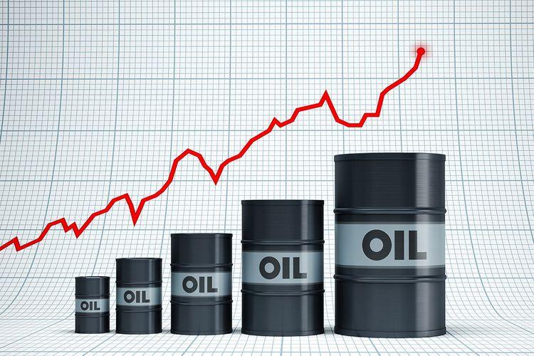 """""""Brent"""" neftinin qiyməti ötən ilin fevralın 25-dən ilk dəfə 55 dolları ötüb"""