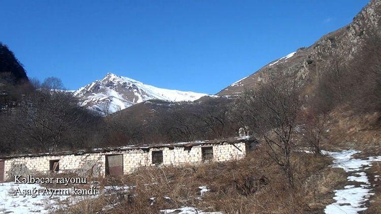 Село Ашагы Айрым Кяльбаджарского района – ВИДЕО