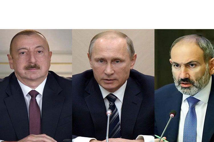 Путин 11 января в Москве обсудит с Алиевым и Пашиняном реализацию заявления по Карабаху