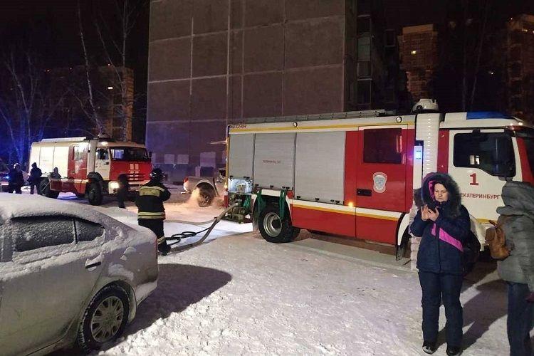 Rusiyada baş vermiş güclü yanğın zamanı 8 nəfər ölüb, 90 sakin təxliyyə olunub
