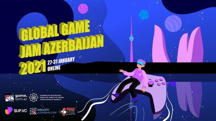 """Azərbaycan """"Global Game Jam 2021"""" oyununa qatılacaq"""