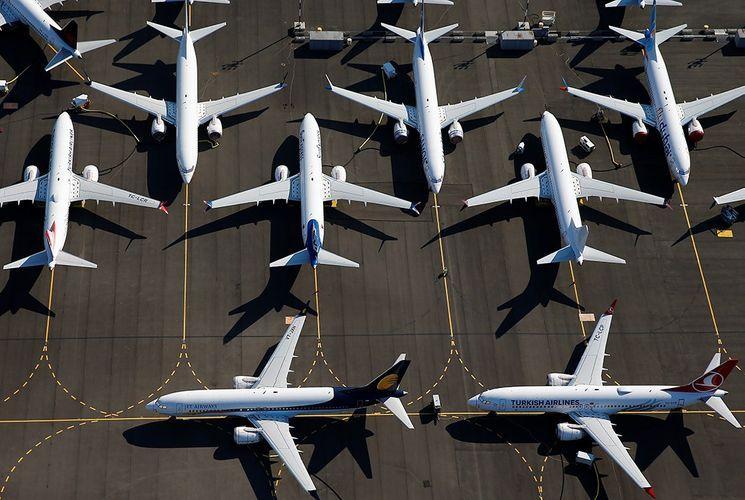 Поставки Boeing в 2020 году обновили 43-летний минимум