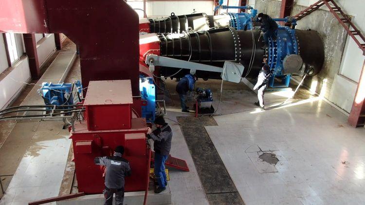 Проводится реконструкция ГЭС в Лачине - ВИДЕО