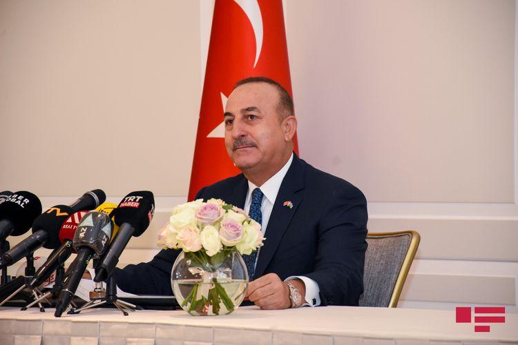 """Çavuşoğlu: """"Bölgədə davamlı sülhü təmin etmək üçün gerçək fürsət yaranıb"""""""