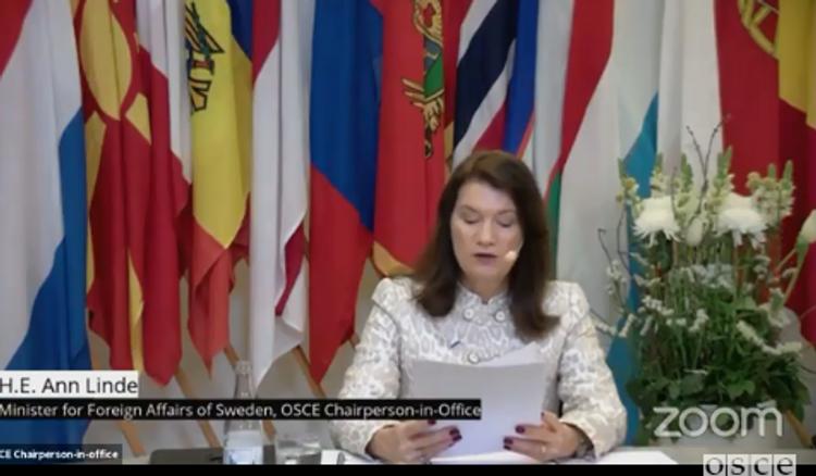 Председатель ОБСЕ: События в Нагорном Карабахе продемонстрировали риски, возникающие, когда конфликты остаются неурегулированными
