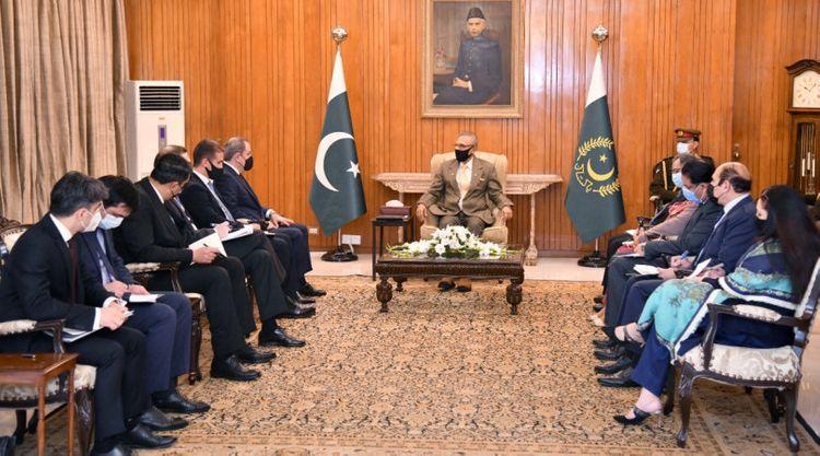 """Prezident Arif Alvi: """"Pakistan hər zaman Azərbaycanın ərazi bütövlüyünü dəstəkləyib"""""""