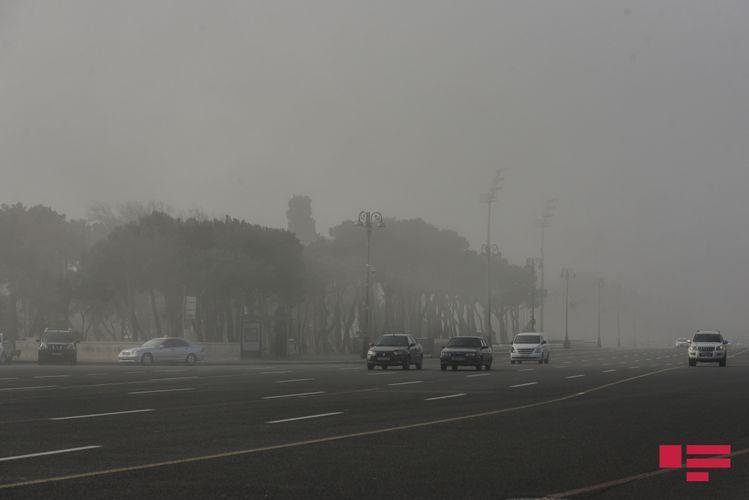 МЭПР: Количество пыли в Баку в 1,5 раза превышает норму