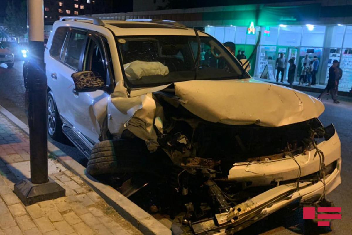 Bakıda 7 avtomobil qəzaya uğrayıb, xəsarət alanlar var - FOTOLENT  - VİDEO  - YENİLƏNİB