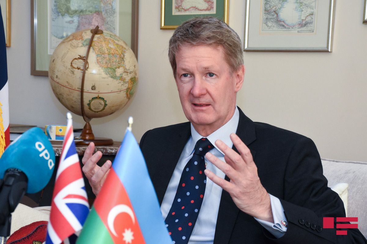 """Ambassador: """"We expect other UK companies to be involved in activities in the recovered territories of Azerbaijan"""" - INTERVIEW"""