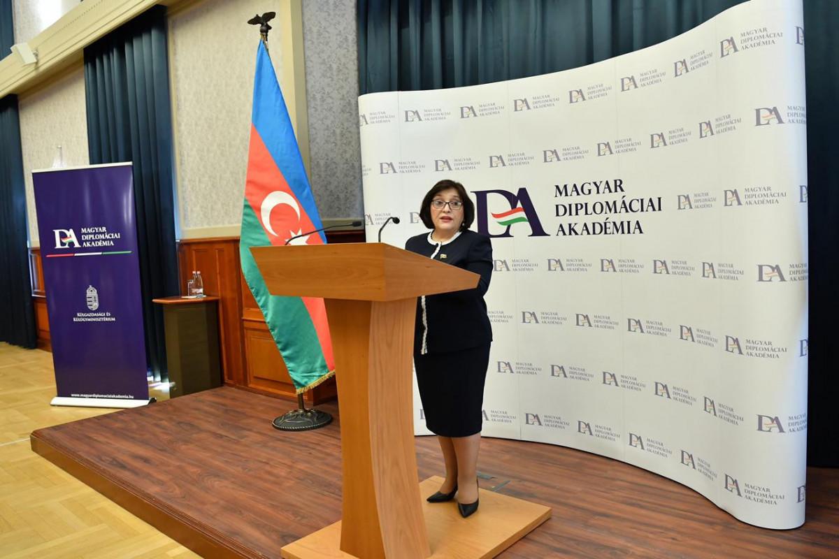 Сахиба Гафарова призвала международное сообщество оказать давление на Армению для выдачи минных карт