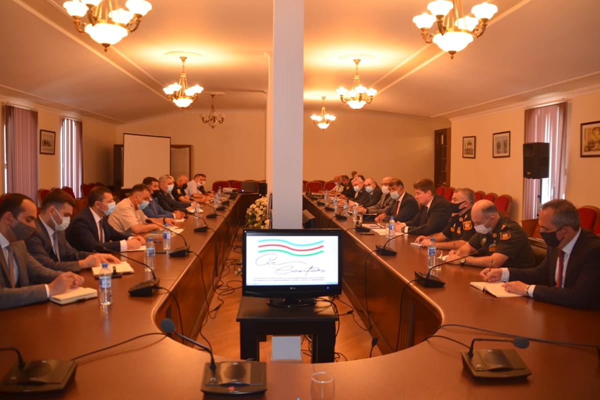 Состоялось совместное заседание рабочих групп