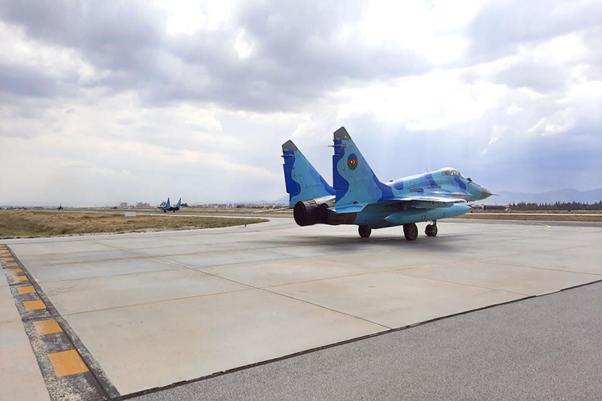 Продолжаются международные лётно-тактические учения «Анатолийский орёл – 2021»-ВИДЕО