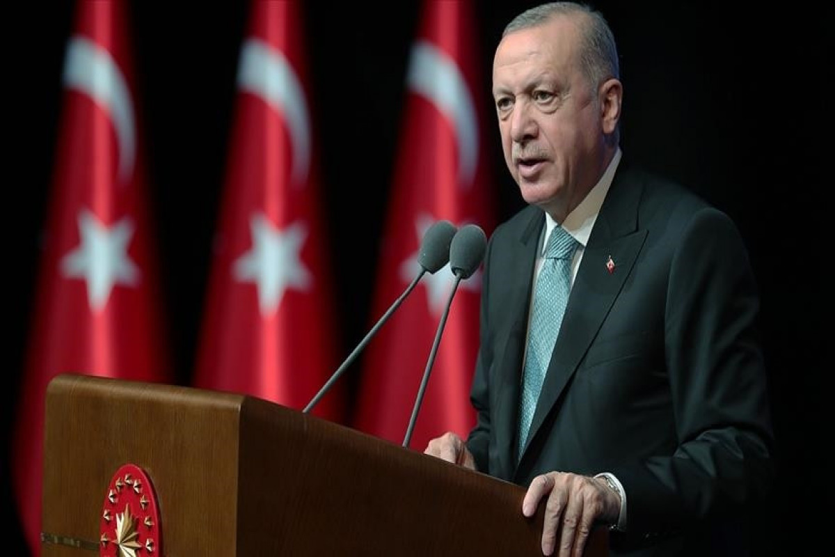 Turkish president vows to continue combating violence against women