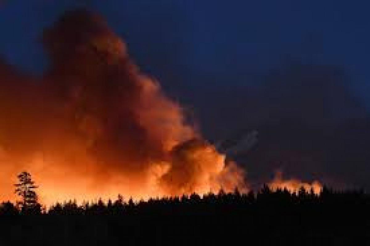 Two major blazes burning in Northern California