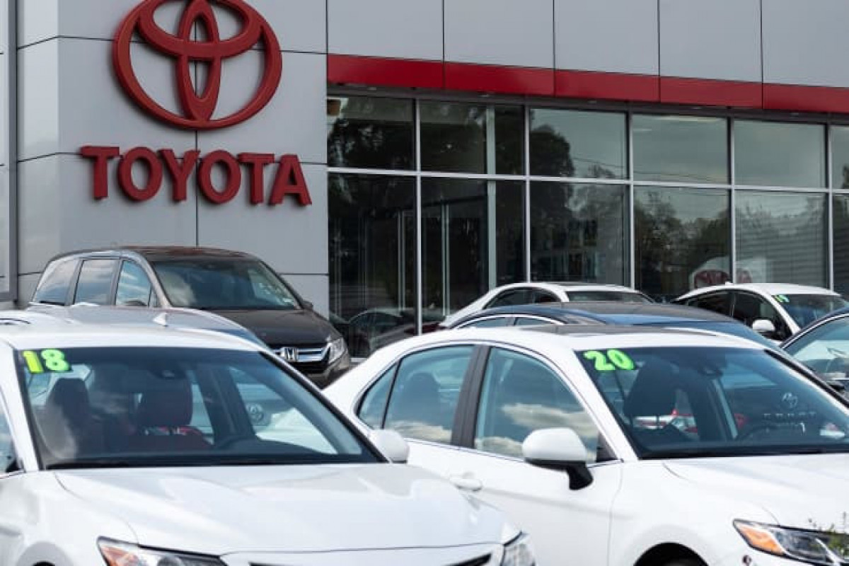 Toyota tops GM sales in the U.S., expected to be America's best-selling automaker