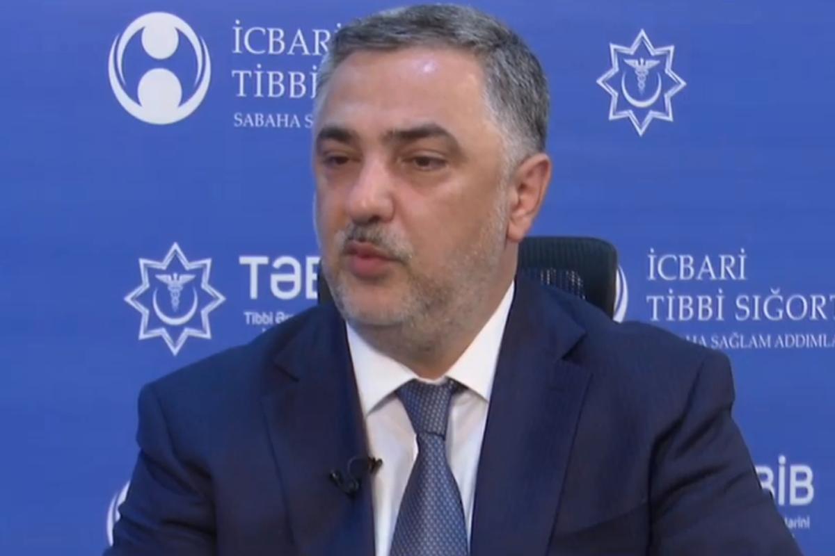 """Valeh Hüseynov: """"Talassemiyalı xəstələrə vaksin vurulması ilə bağlı heç bir əks göstəriş yoxdur"""""""