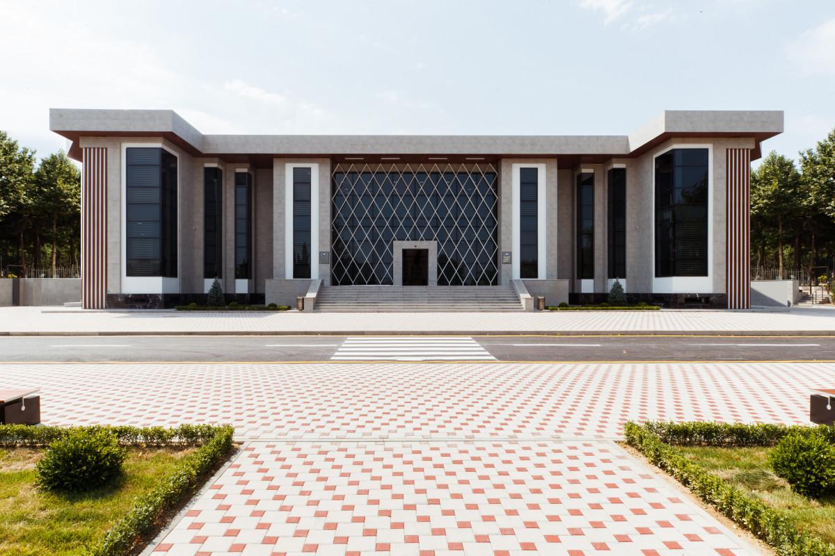 Baş Dövlət Yol Polisi İdarəsinin yeni inzibati binası istifadəyə verilib - FOTO