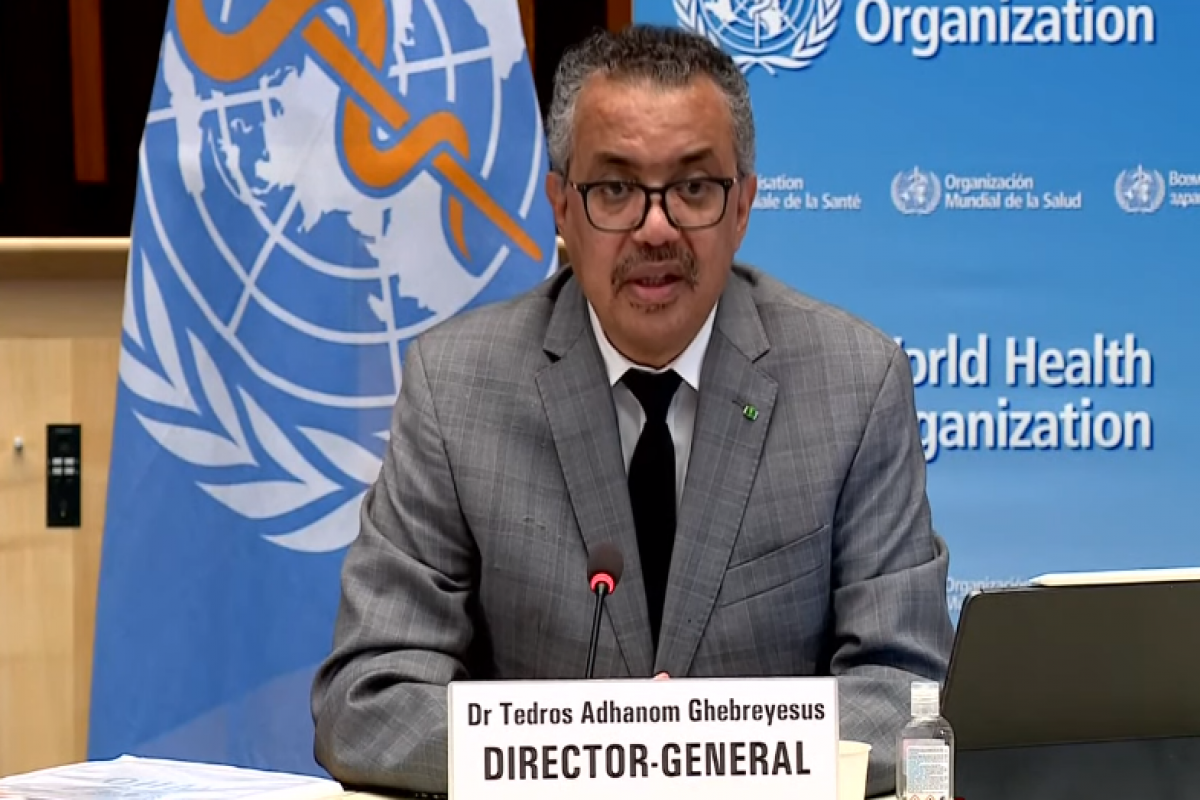 WHO warns: World in very dangerous period of pandemic -LIVE