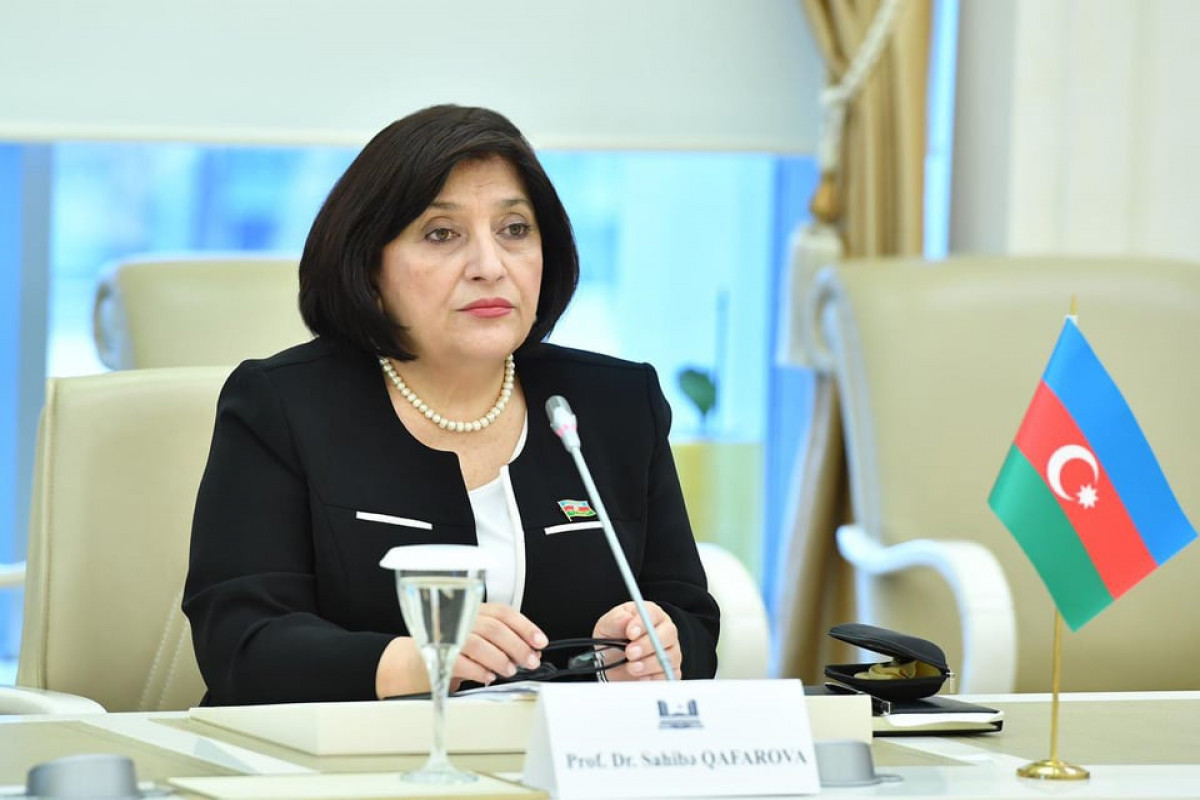 Сахиба Гафарова поблагодарила Кыргызстан за поддержку Азербайджана