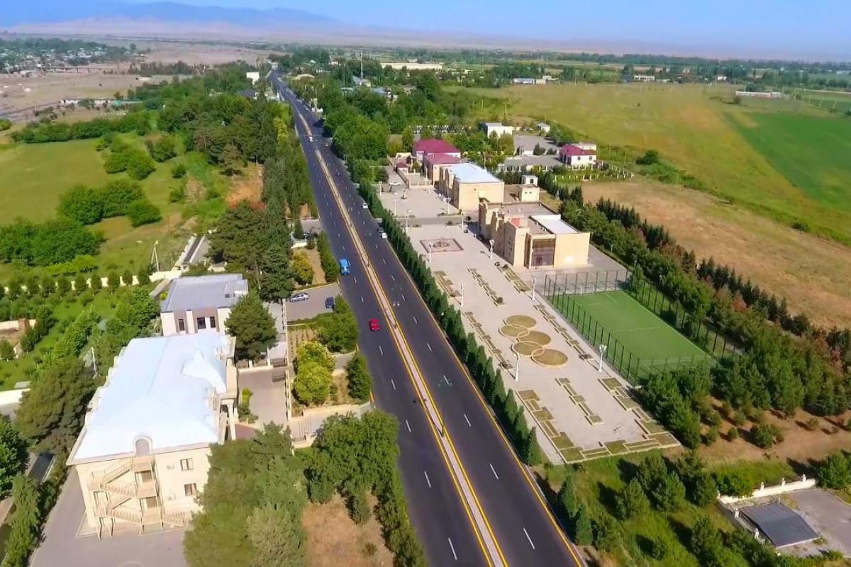В Тертере восстановлена дорожная инфраструктура после окончания Отечественной войны