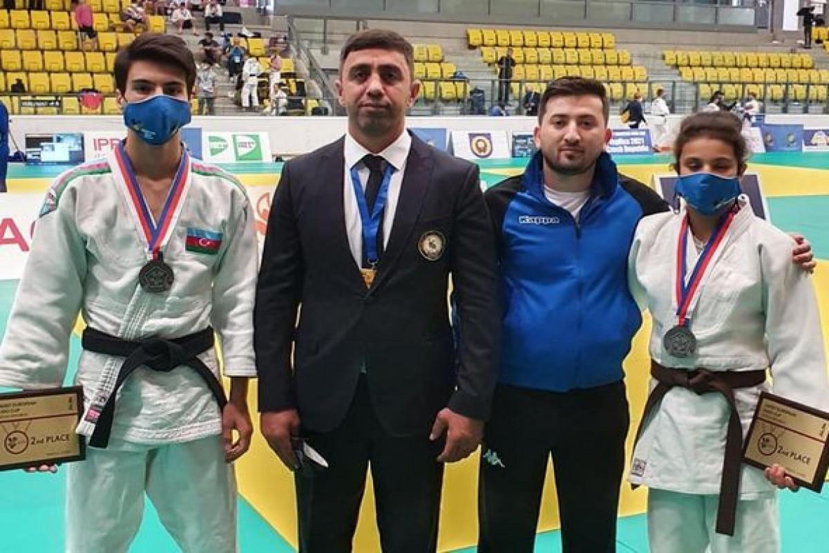 """Azərbaycan cüdoçuları Avropa kubokunun ilk günündə 4 medal qazanıb - <span class=""""red_color"""">FOTOLENT"""