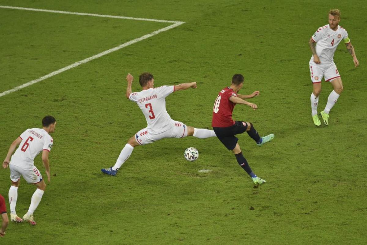 EURO-2020:  Denmark beats Czechs 2-1