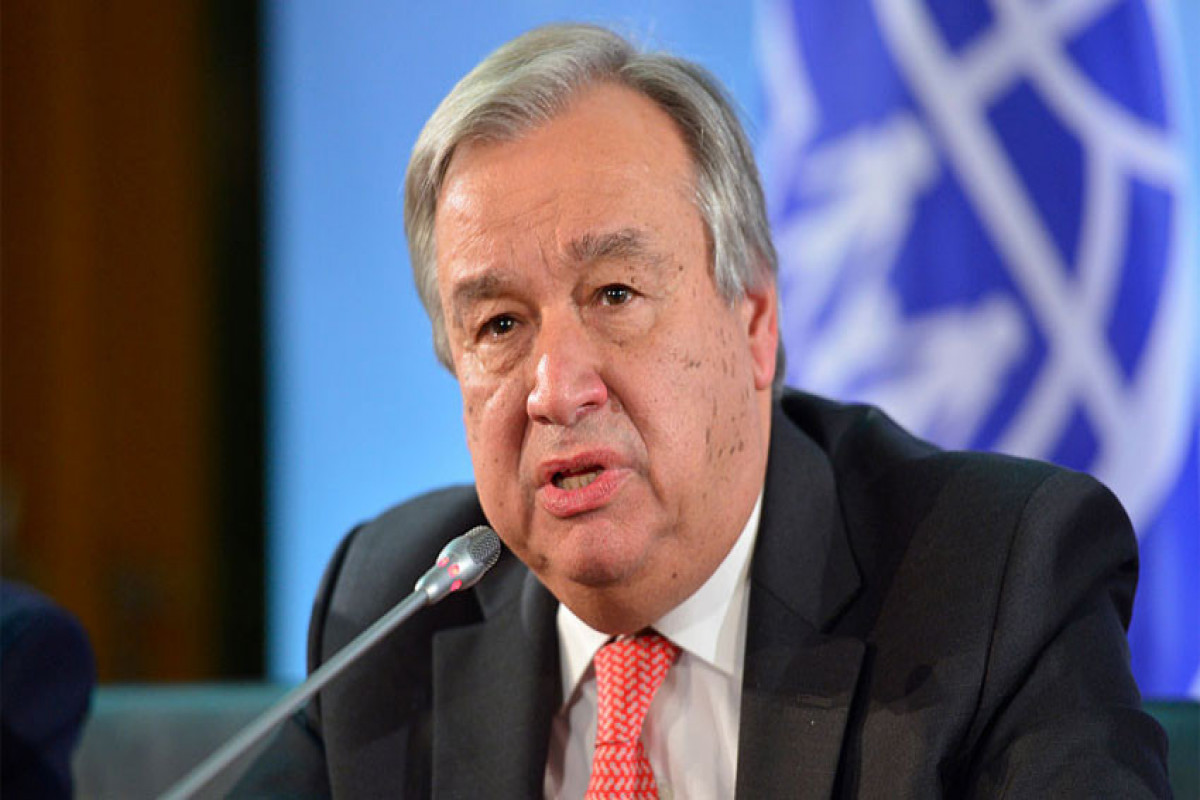 UN chief expresses deep concern over situation in Tigray