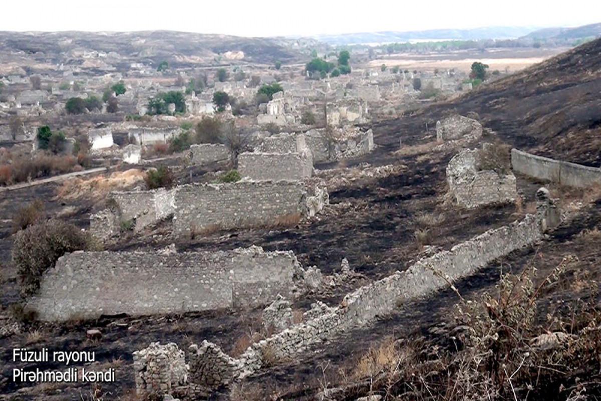 Füzuli rayonunun Pirəhmədli kəndi - VİDEO