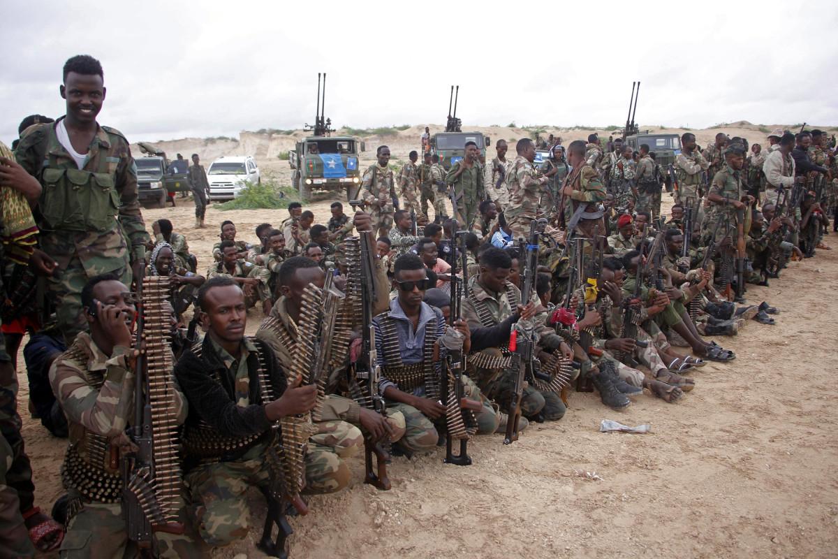 Somalidə 8 terrorçu məhv edilib