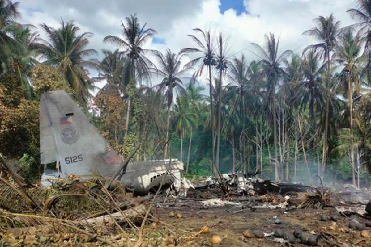 Число погибших при крушении военного самолета на Филиппинах возросло до 45 человек - ОБНОВЛЕНО-6