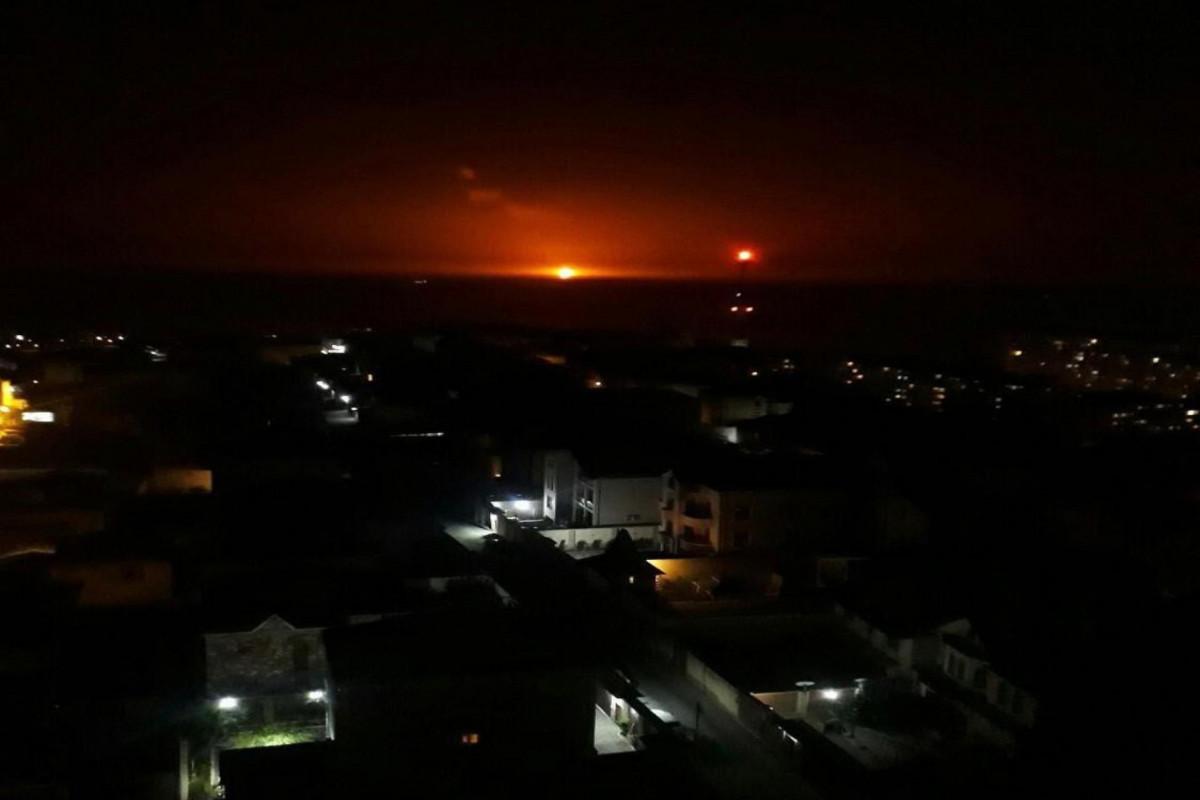 МЭПР: Причиной взрыва на Каспии стало извержение вулкана