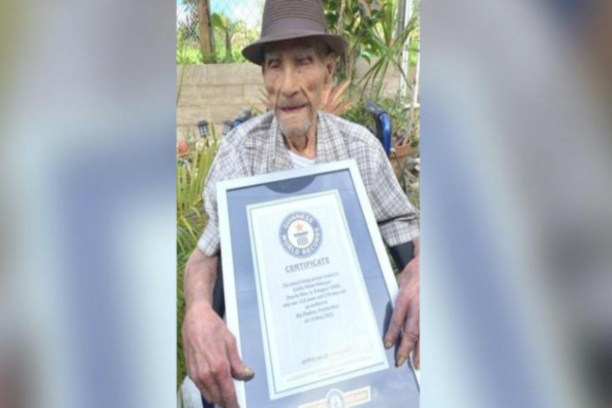Житель Пуэрто-Рико стал самым старым человеком в мире
