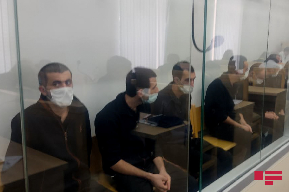 Members of terrorist armed group consisting of Armenians testify in the court-PHOTO -UPDATED-1