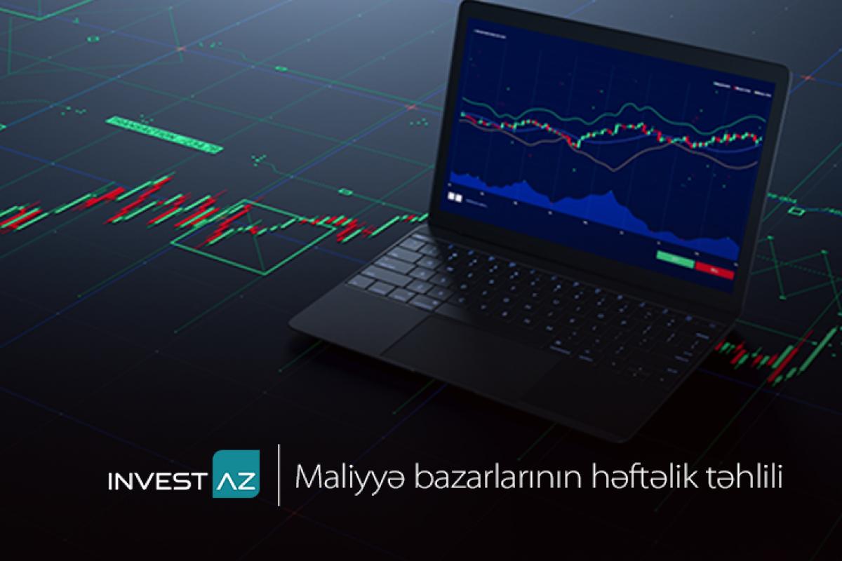 """""""InvestAZ""""dan dünya maliyyə bazarları ilə bağlı həftəlik təhlil"""