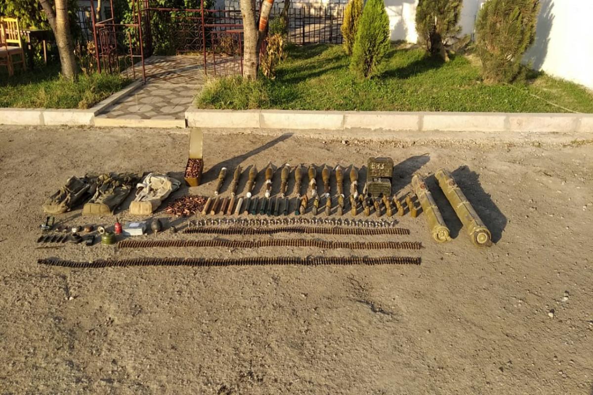 В Шуше обнаружили боеприпасы – ФОТО