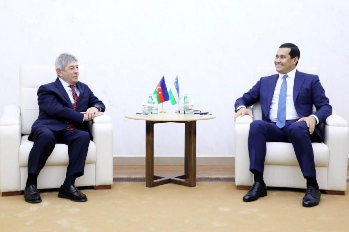 Azərbaycan və Özbəkistan illik ticarət həcmlərini 500 mln. dollaradək artırmağı planlaşdırır
