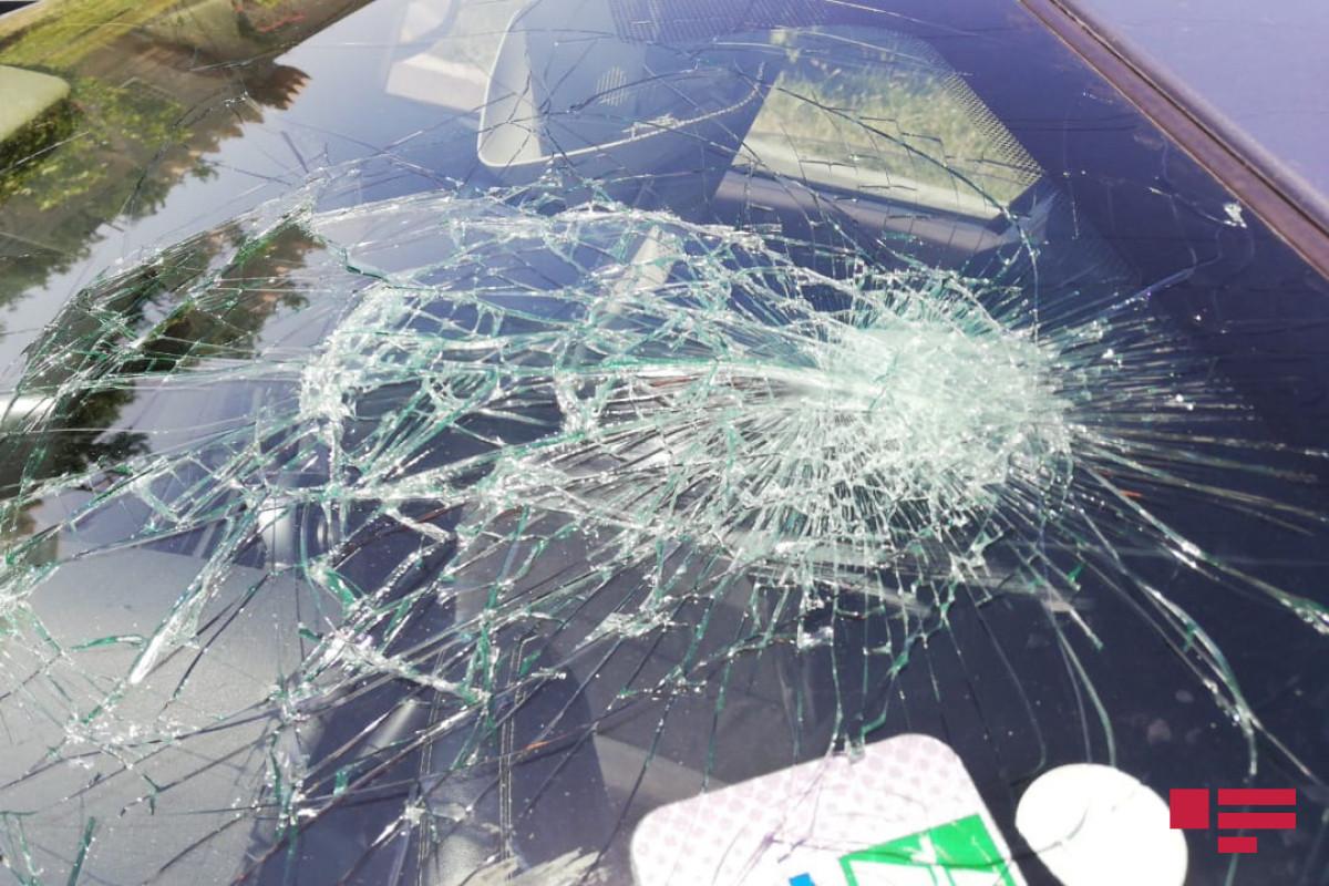В Гяндже столкнулись два автомобиля, есть пострадавший
