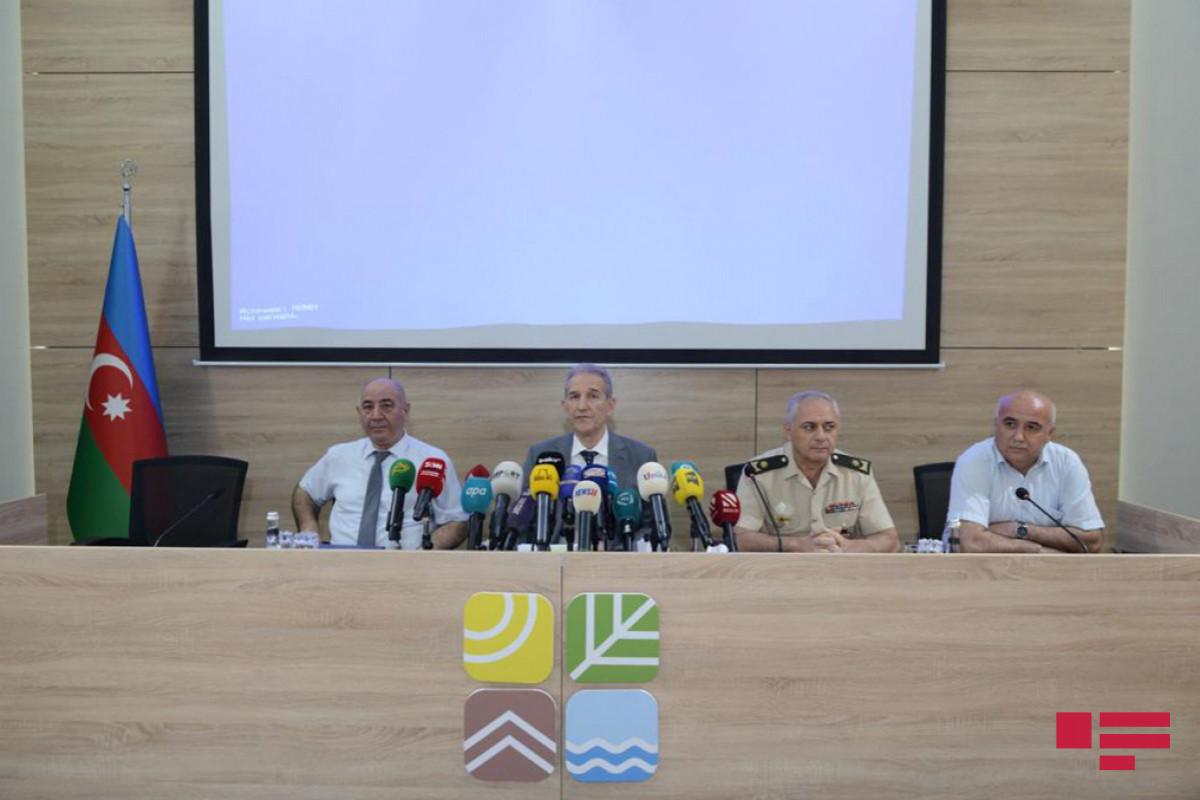 Состоялась пресс-конференция в связи с происшествием на Каспии – ВИДЕО
