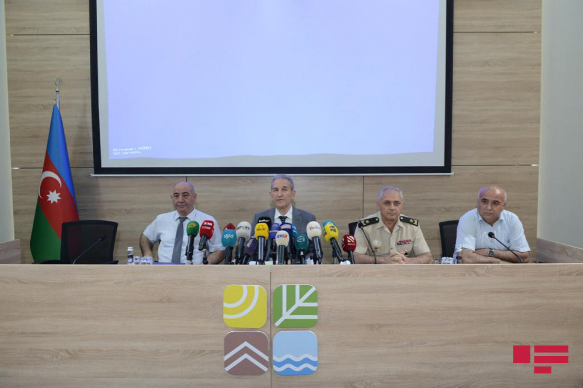 """Farhad Ibadov: """"There is not any infrastructures of SOCAR in Caspian Sea where volcano erupted and no drilling work was carried out"""